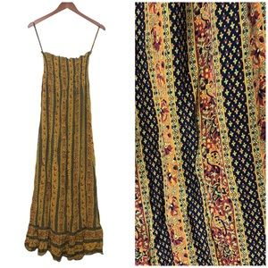 WHAT GOES AROUND COMES AROUND Silk Maxi Dress
